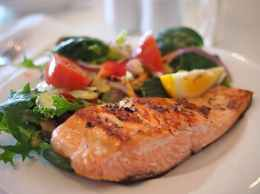 Healthy oily fish